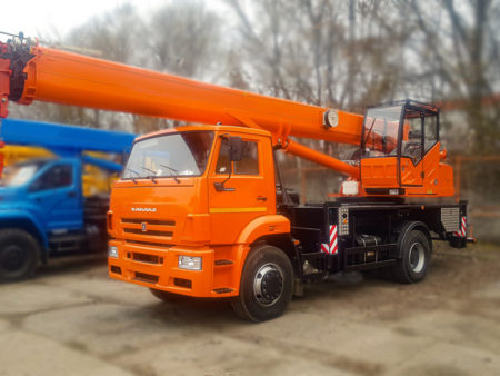 Купить Автокран КамАЗ-53605 КС-45719-8К-1В 4х2 и другую дорожную технику по низкой цене в ООО «Дортехника».