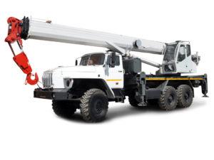 Купить Автокран УРАЛ КС-55732-28 6×6 и другую дорожную технику по низкой цене в ООО «Дортехника».