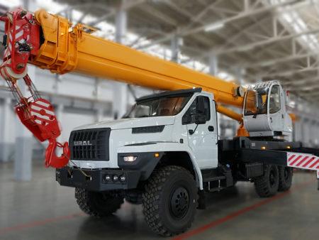 Купить Автокран УРАЛ NEXT КС-45717-2Р AIR и другую дорожную технику по низкой цене в ООО «Дортехника».