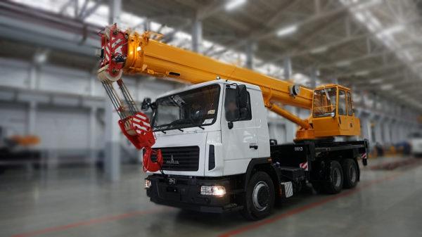 Купить Автокран МАЗ КС-45717A-1В и другую дорожную технику по низкой цене в ООО «Дортехника».