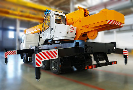 Купить Автокран МАЗ КС-45717А-1Р и другую дорожную технику по низкой цене в ООО «Дортехника».