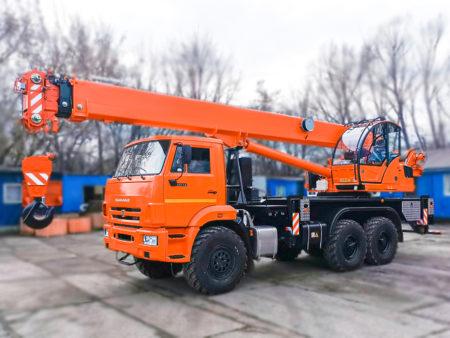 Купить Автокран КамАЗ-43118 КС-55713-5К-1 6х6 и другую дорожную технику по низкой цене в ООО «Дортехника».