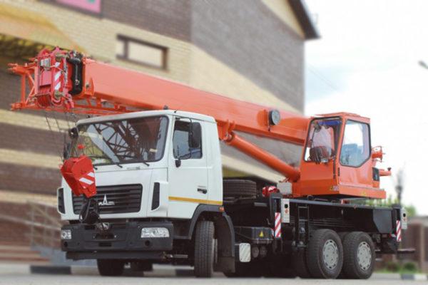 Купить Автокран МАЗ-6312В3 КС-55713-6К-1 (6х4) и другую дорожную технику по низкой цене в ООО «Дортехника».