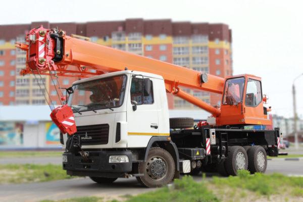 Купить Автокран МАЗ-6312В3 КС-55713-6К-2 (6х4) и другую дорожную технику по низкой цене в ООО «Дортехника».