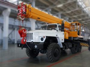 Купить Автокран УРАЛ КС-35714 и другую дорожную технику по низкой цене в ООО «Дортехника».