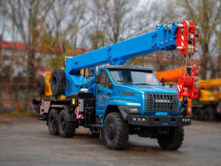 Купить Автокран Урал NEXT-4320 КС-55713-3К-3 и другую дорожную технику по низкой цене в ООО «Дортехника».