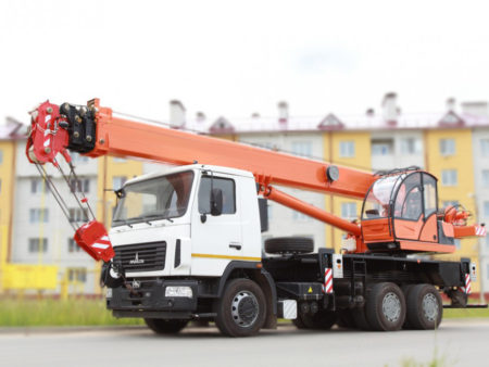 Купить Автокран МАЗ-6312С3 КС-55713-6К-3 и другую дорожную технику по низкой цене в ООО «Дортехника».