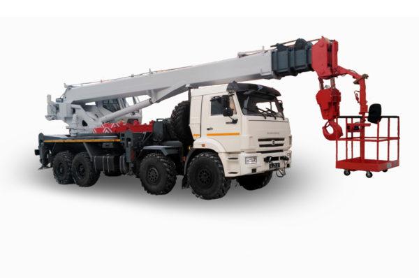 Купить Автокран КамАЗ КС-55733-33 8х8 и другую дорожную технику по низкой цене в ООО «Дортехника».