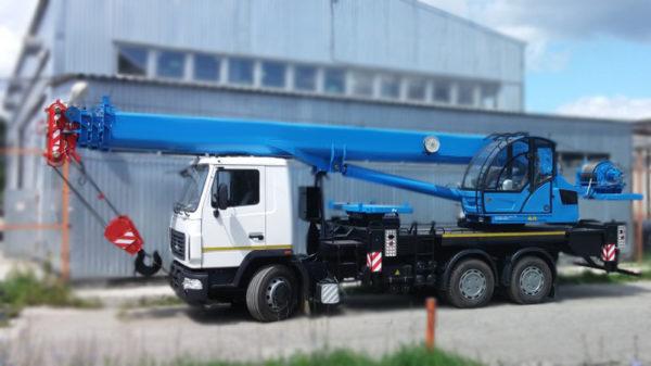 Купить Автокран МАЗ-6312С3 КС-55713-6К-4 и другую дорожную технику по низкой цене в ООО «Дортехника».