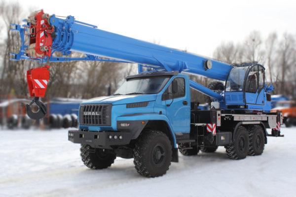Купить Автокран УРАЛ NEXT 4320 КС-55713-3К-4В (6х6) и другую дорожную технику по низкой цене в ООО «Дортехника».