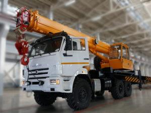 Купить Автокран КамАЗ КС-35714К-2 и другую дорожную технику по низкой цене в ООО «Дортехника».