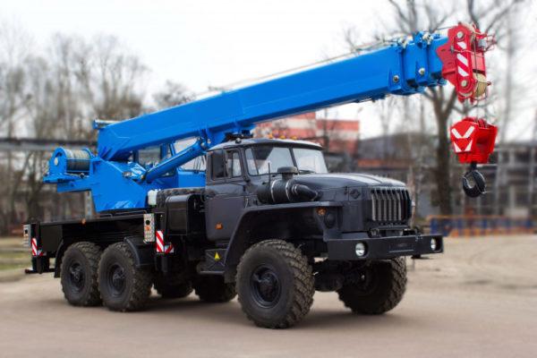 Купить Автокран УРАЛ-4320 КС-35719-3-02 и другую дорожную технику по низкой цене в ООО «Дортехника».