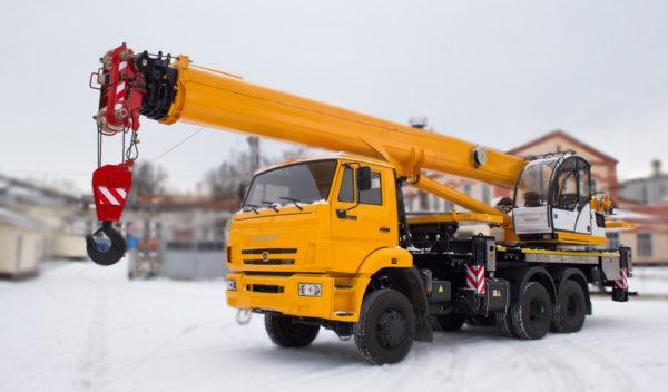 Купить Автокран КамАЗ-65111 КС-55713-4К-4В (6х6) и другую дорожную технику по низкой цене в ООО «Дортехника».