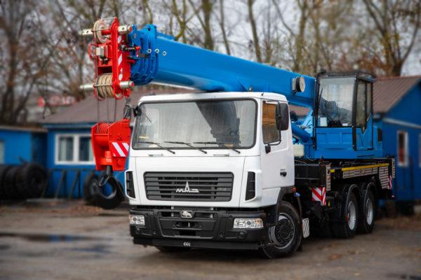 Купить Автокран МАЗ-6312С3 КС-55713-6К-4В и другую дорожную технику по низкой цене в ООО «Дортехника».