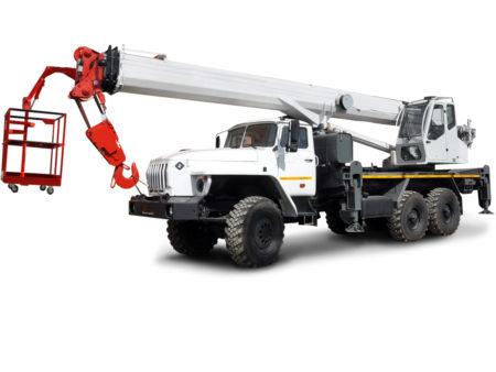 Купить Автокран УРАЛ КС-55733-33 6×6 и другую дорожную технику по низкой цене в ООО «Дортехника».