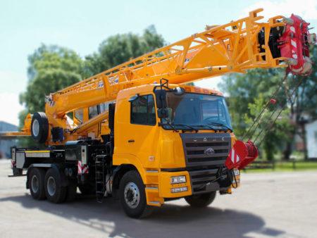 Купить Автокран CAMC HN3250 КС-55713-12К-4В (6х4) и другую дорожную технику по низкой цене в ООО «Дортехника».