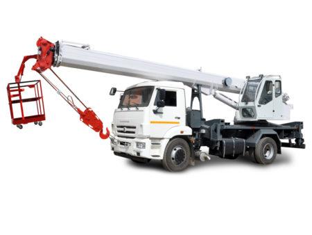 Купить Автокран КамАЗ-53605 КС-45734-19 4х2 и другую дорожную технику по низкой цене в ООО «Дортехника».