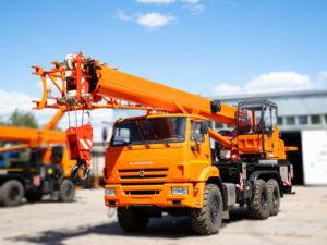 Купить Автокран КамАЗ-43118 КС-55713-5К-2В (6х6) и другую дорожную технику по низкой цене в ООО «Дортехника».