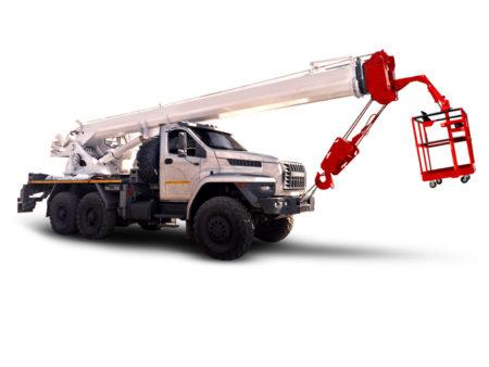 Купить Автокран УРАЛ NEXT КС-45734-19 6×6 и другую дорожную технику по низкой цене в ООО «Дортехника».