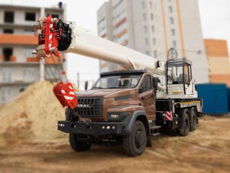 Купить Автокран УРАЛ NEXT 73945-01 КС-55729-2К-3 и другую дорожную технику по низкой цене в ООО «Дортехника».