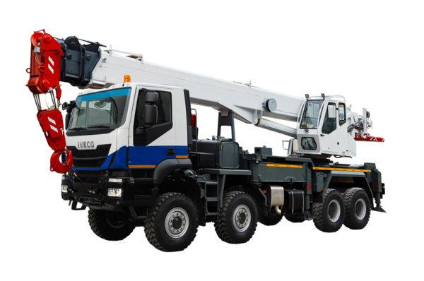 Купить Автокран IVECO КС-65760 и другую дорожную технику по низкой цене в ООО «Дортехника».