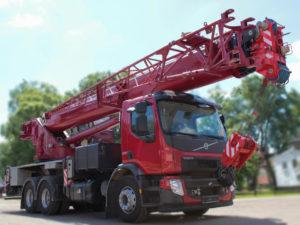 Купить Автокран VOLVO FE-280 КС-65719-7К (6х4) и другую дорожную технику по низкой цене в ООО «Дортехника».