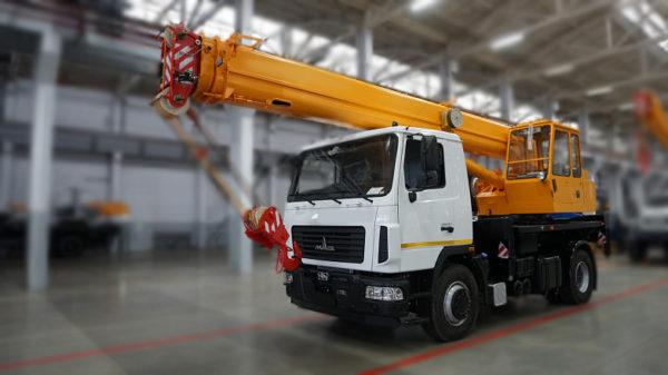 Купить Автокран МАЗ КС-35715 и другую дорожную технику по низкой цене в ООО «Дортехника».