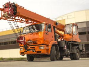 Купить Автокран КамАЗ-53605 КС-35719-8А 4х2 и другую дорожную технику по низкой цене в ООО «Дортехника».