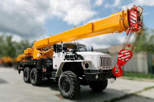 Купить Автокран УРАЛ КС-45717-3В и другую дорожную технику по низкой цене в ООО «Дортехника».