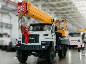 Купить Автокран УРАЛ NEXT КС-45717-4В и другую дорожную технику по низкой цене в ООО «Дортехника».