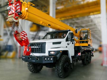Купить Автокран УРАЛ NEXT КС-45717-2М (СТРЕЛА 22 М) и другую дорожную технику по низкой цене в ООО «Дортехника».