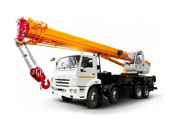 Купить Автокран КамАЗ-55717К-1 и другую дорожную технику по низкой цене в ООО «Дортехника».