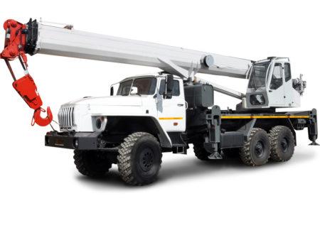 Купить Автокран УРАЛ КС-55732-28 и другую дорожную технику по низкой цене в ООО «Дортехника».