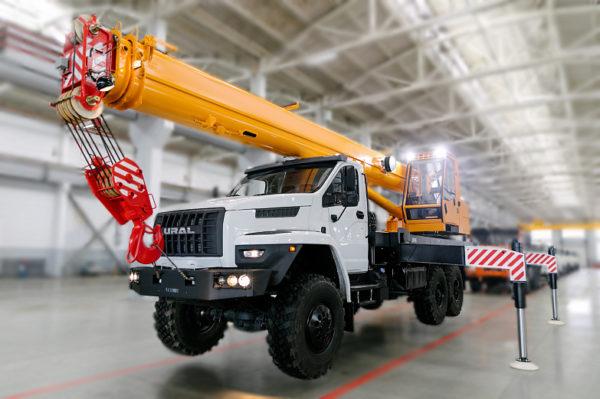 Купить Автокран УРАЛ NEXT КС-45717-2М (СТРЕЛА 24 М) и другую дорожную технику по низкой цене в ООО «Дортехника».