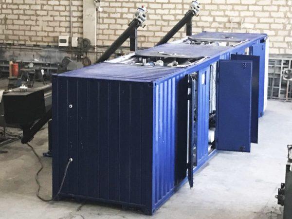 Купить Установка для производства полимер-битумного вяжущего и битумных мастик для ремонта дорог в ООО Дортехника.