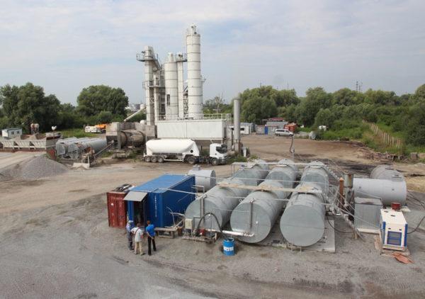 Купить Установка для приготовления битумной эмульсии ЭУ-5(10) для ремонта дорог в ООО Дортехника.