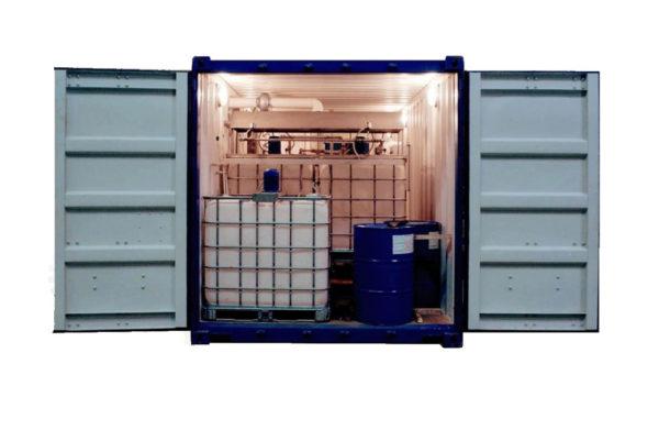 Купить Установка для производства битумной эмульсии производительностью 3000 л/ч для ремонта дорог в ООО Дортехника.