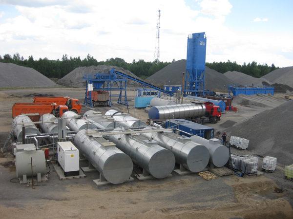 Купить Завод по производству битумной эмульсии для ремонта дорог в ООО Дортехника.