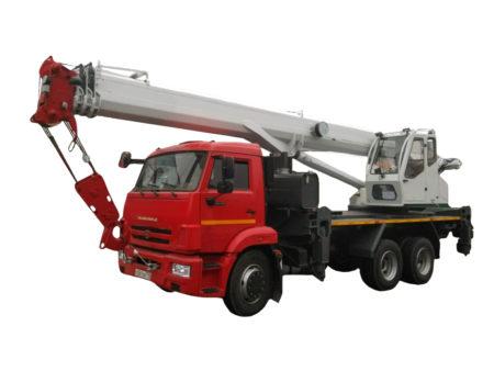 Купить Автокран КамАЗ КС-55732-33 и другую дорожную технику по низкой цене в ООО «Дортехника».