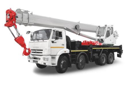 Купить Автокран КамАЗ КС-55733-33 и другую дорожную технику по низкой цене в ООО «Дортехника».