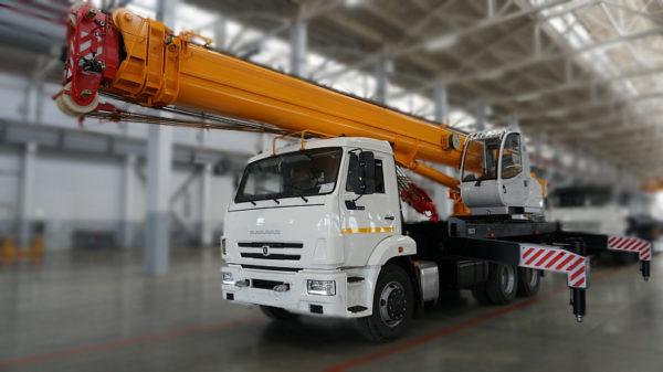 Купить Автокран КамАЗ КС-45717К-1Р и другую дорожную технику по низкой цене в ООО «Дортехника».