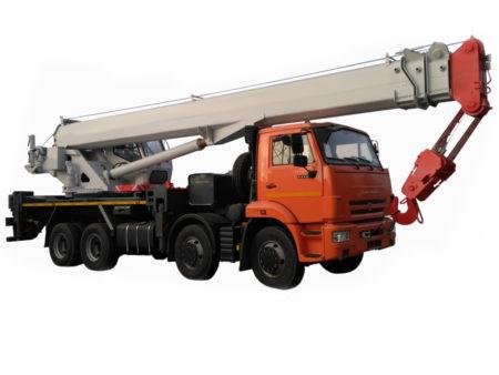 Купить Автокран КамАЗ КС-65711-34 и другую дорожную технику по низкой цене в ООО «Дортехника».