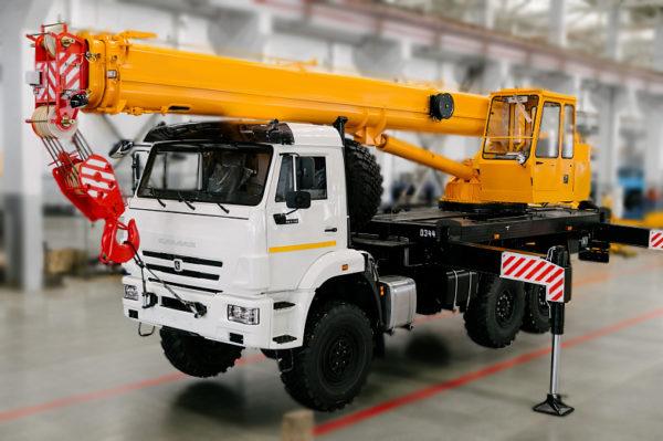 Купить Автокран КамАЗ КС-45717К-3В (стрела 23 м) и другую дорожную технику по низкой цене в ООО «Дортехника».
