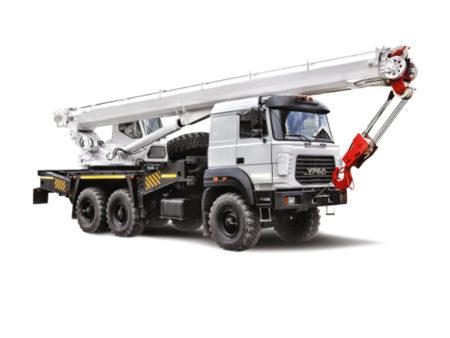 Купить Автокран УРАЛ КС-55733 и другую дорожную технику по низкой цене в ООО «Дортехника».