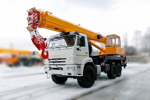 Купить Автокран КамАЗ КС-45717К-3В (стрела 21 м) и другую дорожную технику по низкой цене в ООО «Дортехника».