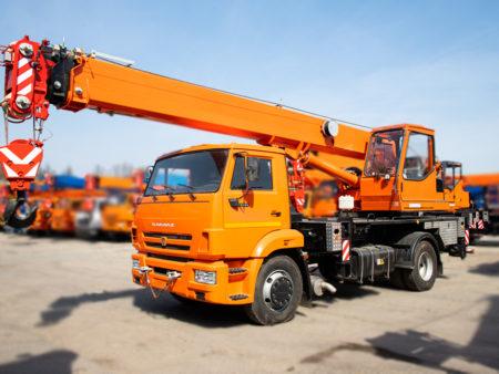 Купить Автокран КамАЗ КС-35719-1-02 и другую дорожную технику по низкой цене в ООО «Дортехника».