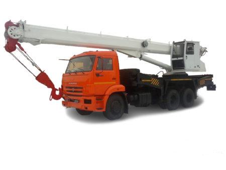 Купить Автокран КамАЗ КС-55733 и другую дорожную технику по низкой цене в ООО «Дортехника».