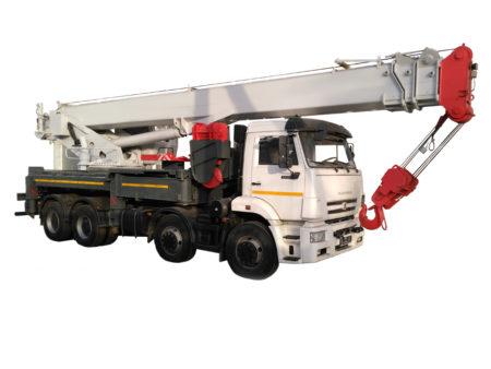 Купить Автокран КамАЗ КС-65717-34 и другую дорожную технику по низкой цене в ООО «Дортехника».