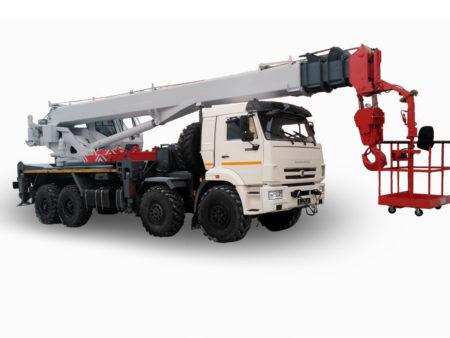 Купить Кран-подъемник КамАЗ КС-55733-33 и другую дорожную технику по низкой цене в ООО «Дортехника».