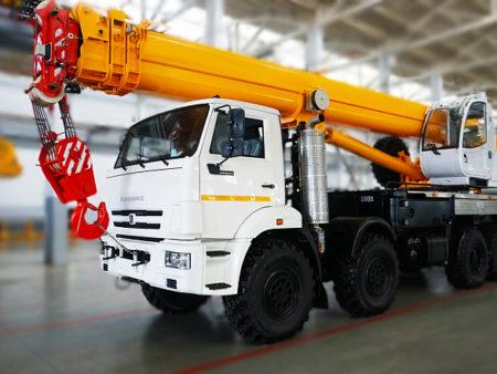 Купить Автокран КамАЗ КС-65740-7 и другую дорожную технику по низкой цене в ООО «Дортехника».
